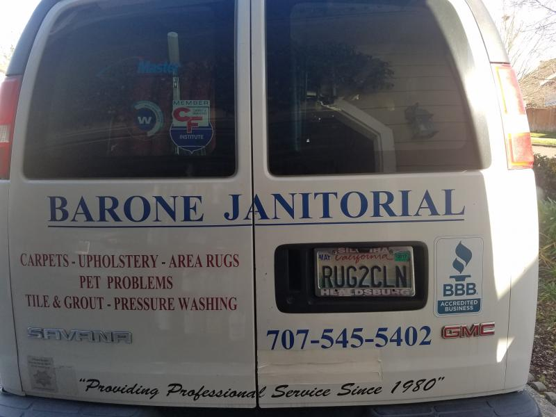 Barone Janitorial Home